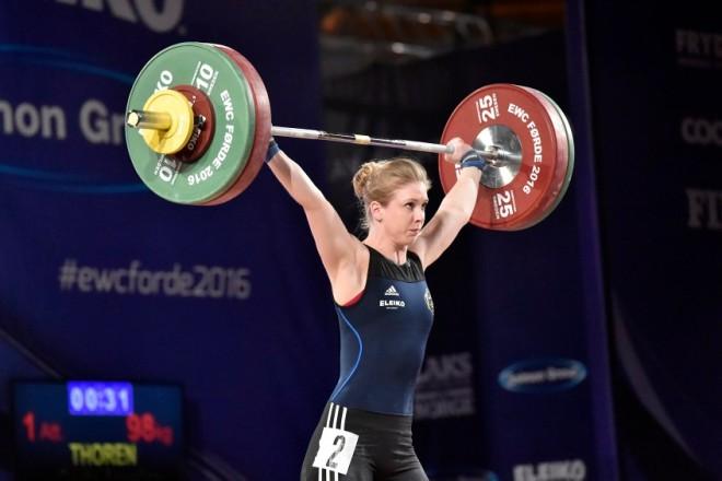 Carita Thoren, Allmänna SK, ryck, 98 kilo