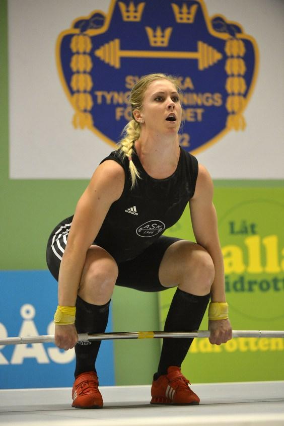 SM Tyngdlyftning 2014, Borås