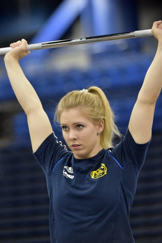 Carita Thorén, Allämnna SK, uppladdning inför VM-start,